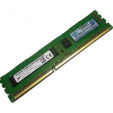 HP4GB (1x4GB) Dual Rank x8 PC3L-10600E (DDR3-1333) Unbuffered CAS-9 Low Voltage Memory Kit (647657-071)