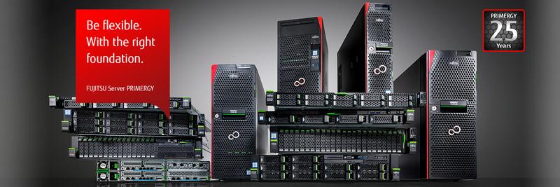 Линейка серверов Fujitsu PRIMERGY